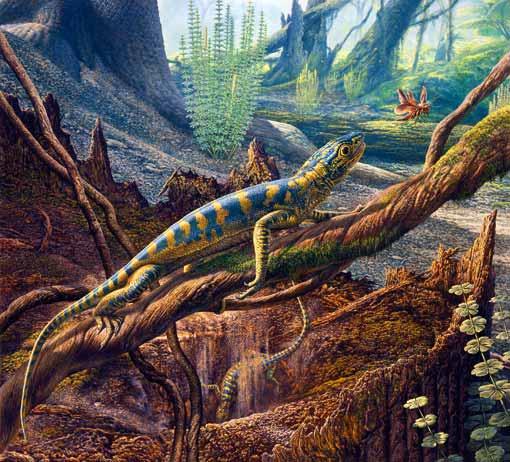 最初の爬虫類