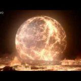 月の形成過程をシュミレーションした動画がすごい!ジャイアントインパクト説