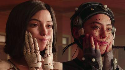 「銃夢(木城ゆきと著)」を原作として作成された「アリータ:バトル・エンジェル」のメイキング映像が公開される