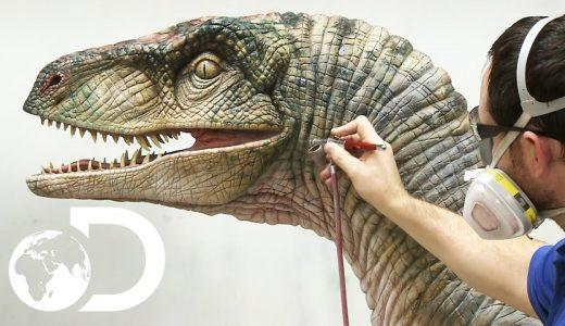 まるで生きているみたいな質感の恐竜の作り方を解説してみた