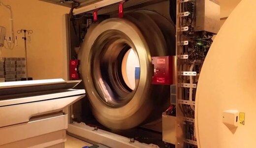 【回転注意】X線CTの中身が高速回転しすぎて怖い