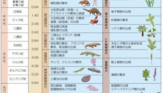 地質時代 -概略-