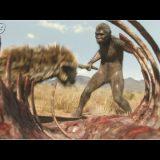 死肉を貪る人類の祖先「ホモ・ハビリス」の姿が想像以上に野生的!