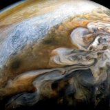 NASAの木星探査機Junoが撮影した画像で作成した木星の動画が神秘的すぎる