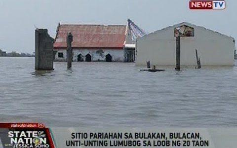 海面上昇よりも地盤沈下による被害が甚大。フィリピンのシティオパリアハンが海に沈む