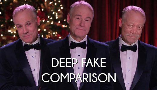 「DEEP FAKE」AIによって処理された顔が違和感なさすぎてすごい