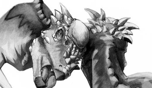パキケファロサウルスは首の骨がそこまで強くないので頭突きはできなかった