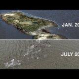 【動画】メキシコ湾の重油流出事故で小さな島の生態系が壊滅し海の底に沈む