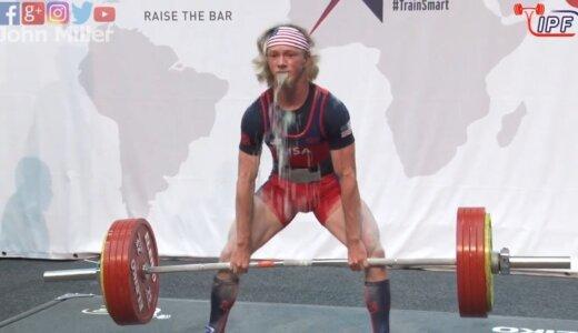 【動画】人間の限界!!重量挙げ選手がバーベルをあげようとするも重すぎて吐く